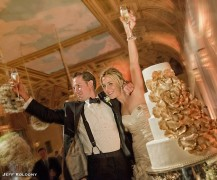 Emily & Rich – All White Guilded Wedding