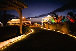 Beach Side Welcome Party