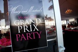 Wendy & Mike's Grand Prix Welcome Reception