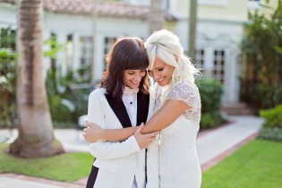 Mary and Felicia- Intimate Miami Wedding