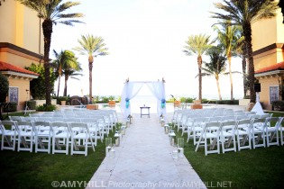 Vanessa and Joe- Eau Palm Beach Wedding